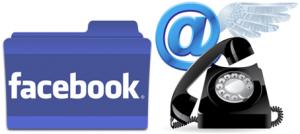Facebook kapcsolat űrlapokkal