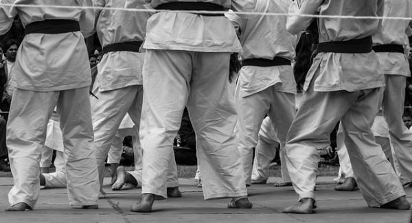 karate csoport férfiak