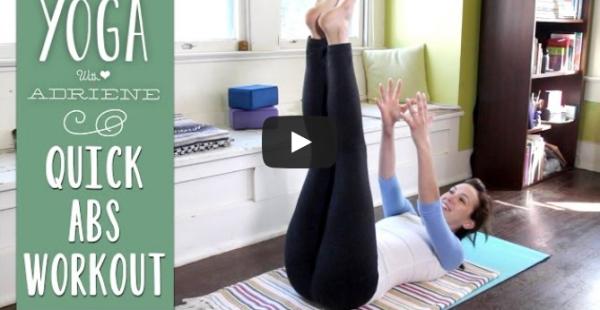 otthoni gyakorlatok hasra jógázással