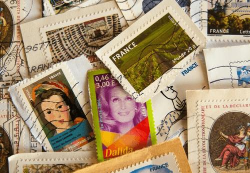 bélyeg gyűjtemény