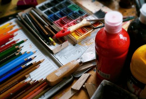 festés és rajzolás a művészet rajongó családapáknak