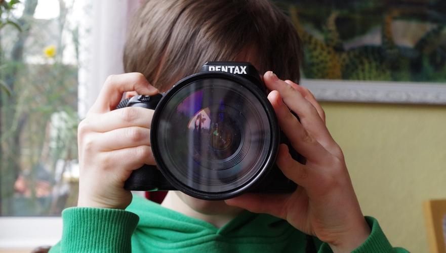 a fényképezés jó játék lehet a gyerekekkel