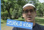 Zugló térkép, bringával körberajzolva - Hello Zugló