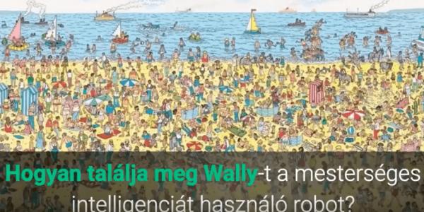 Hogyan találja meg Wallyt a mesterséges intelligenciát használó robot