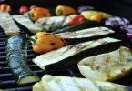 grillezett cukkini és paprika