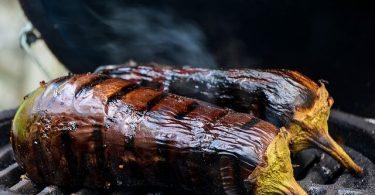 grillezett padlizsán